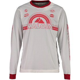 Maloja StronM. Bike Jersey Longsleeve Men white